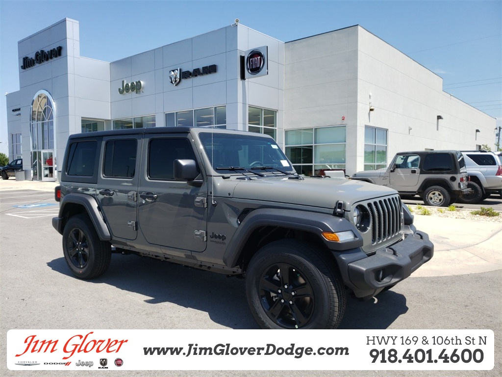 Jeep Wrangler Unlimited Sport >> New 2019 Jeep Wrangler Unlimited Sport Sport Utility In Owasso